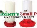 Plastic Chick Feeder & Waterer Combo