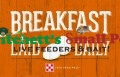 Purina Breakfast Laid Daily Metal Sign