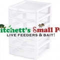 White Small 5 Drawer Mealworm Breeding Kit