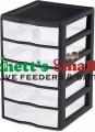 Black Small 5 Drawer Mealworm Breeding Kit